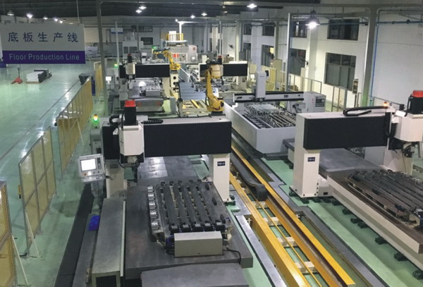 GA Series 4 Axis CNC Panel Machining Center